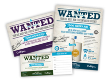 "Culligan's ""Wanted Dead or Alive"" Promotion"
