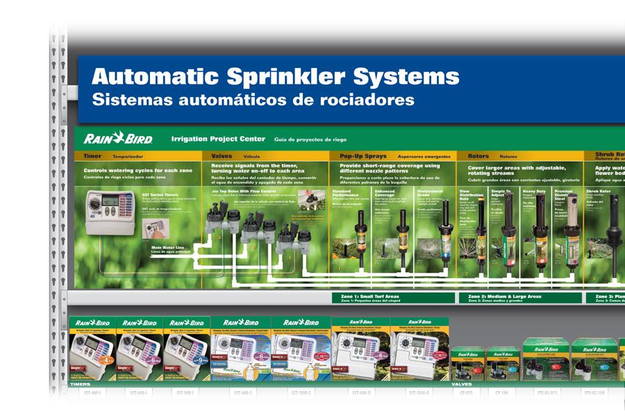 Rain Bird Sprinkler System Merchandising Heinzeroth